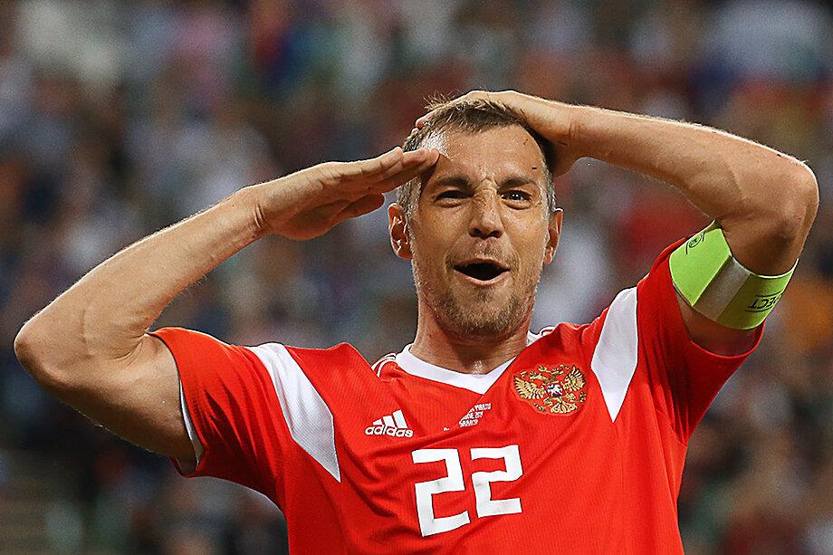 Артём Дзюба из питерского «Зенита» – капитан российской сборной.