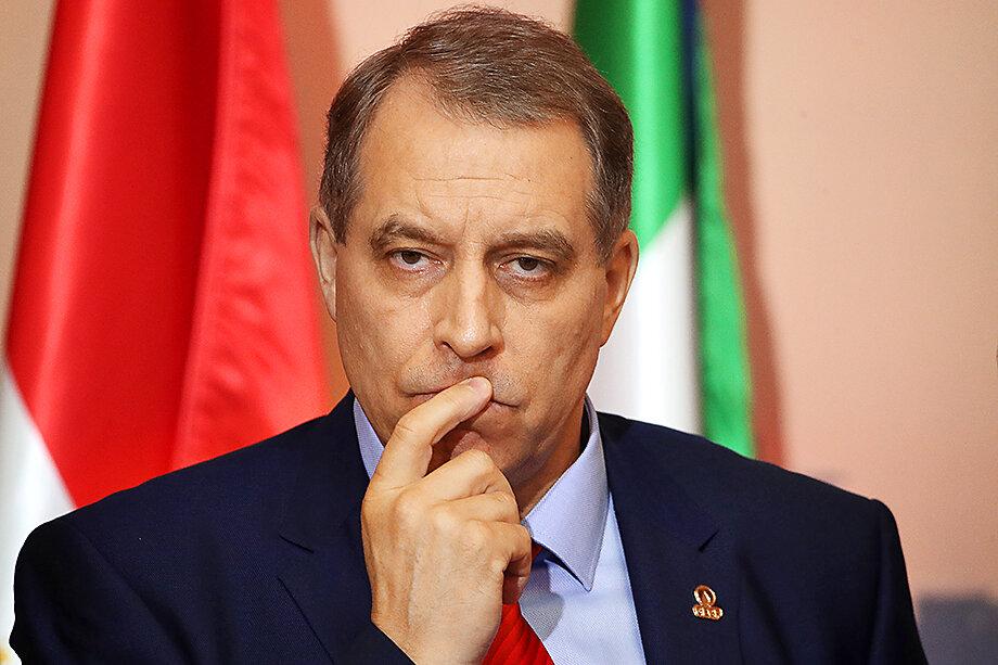 Генеральный секретарь ФСЭГ Юрий Сентюрин.