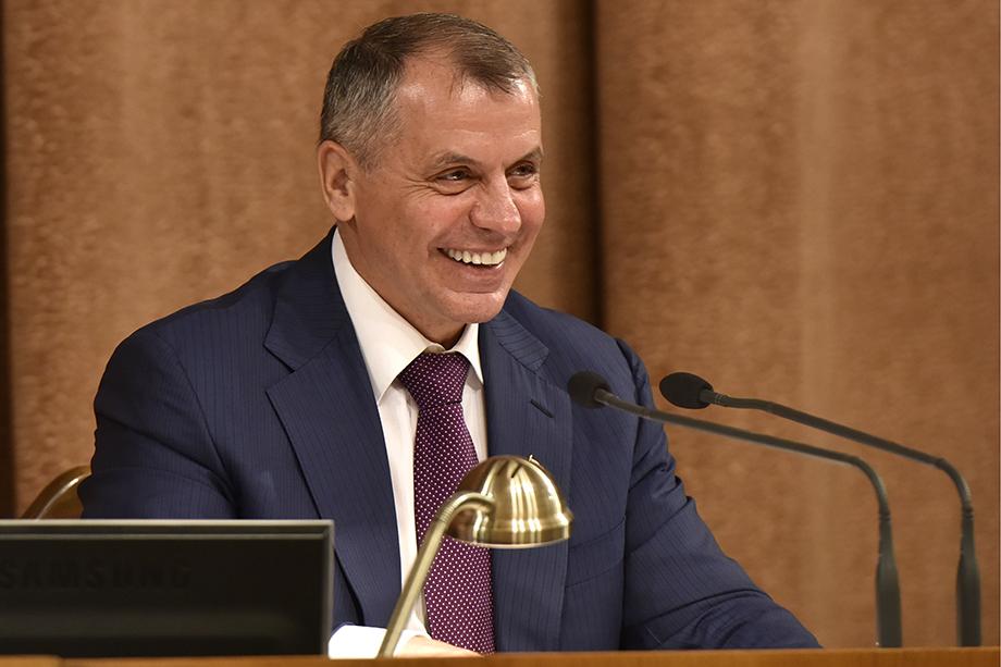 Глава Госсовета Крыма Владимир Константинов даже не вошёл в первую тройку.