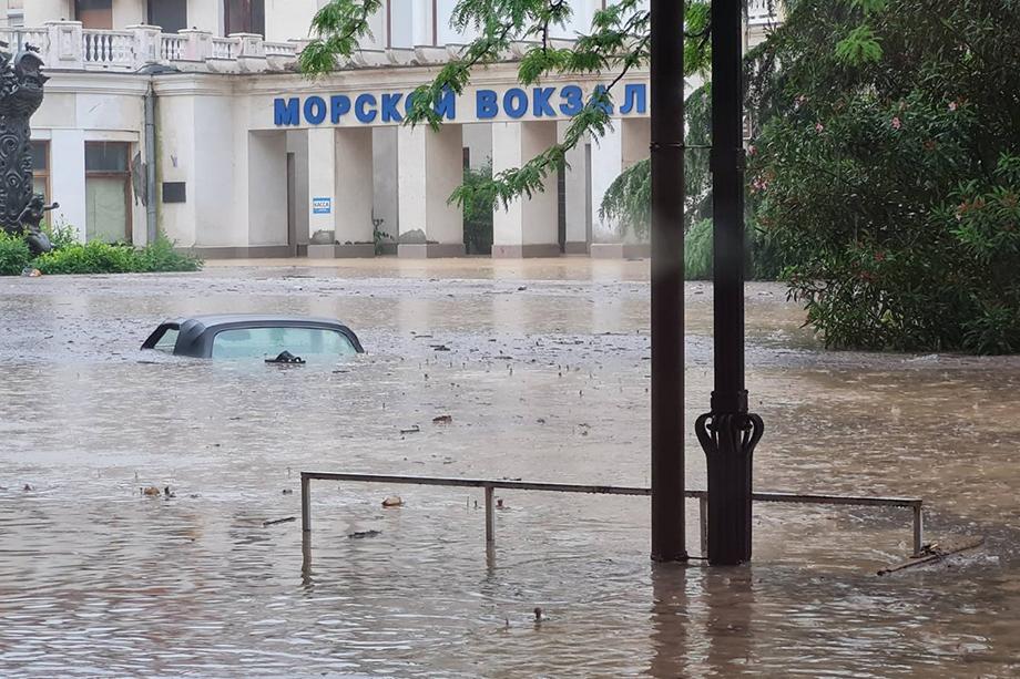 Город оказался затоплен в ночь на 18 июня.