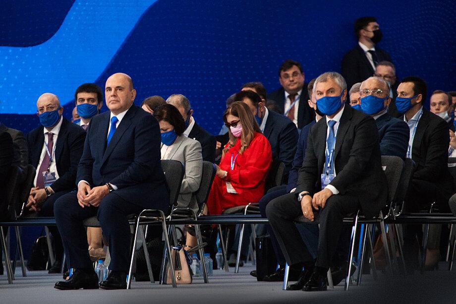 Избрание лидером действующего премьер-министра Михаила Мишустина породило бы волну слухов о том, что именно он станет преемником президента.