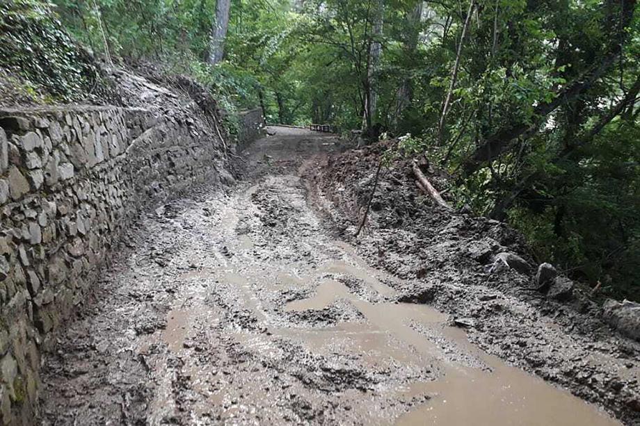 Открытие маршрутов планируется после полной ликвидации последствий паводка