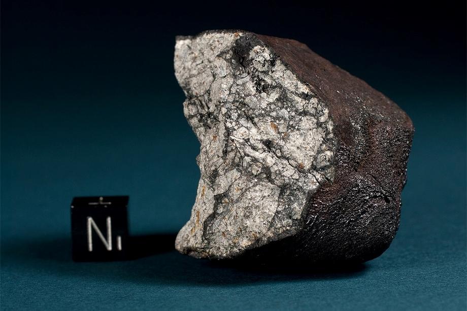 Обломок Челябинского метеорита.
