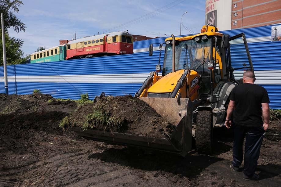 РЖД попросили администрацию Екатеринбурга изменить статус участка в парке имени Маяковского для деловой застройки.