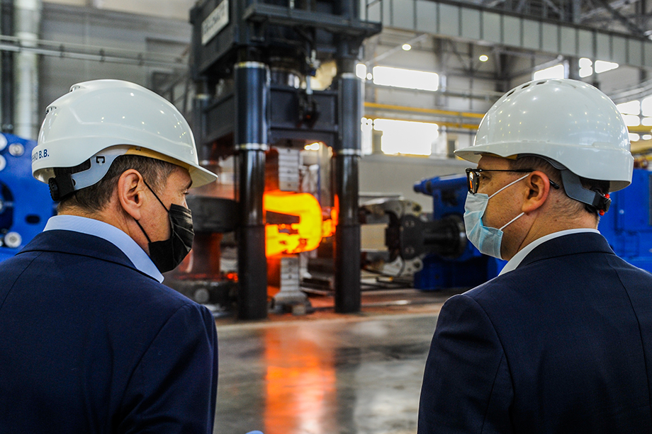 На базе мощностей индустриального парка «Станкомаш» планируется наладить выпуск новой продукции: для ветрогенерации, металлургии и судостроения.