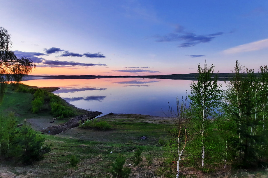 Озеро Ургун буквально исчезает на глазах.