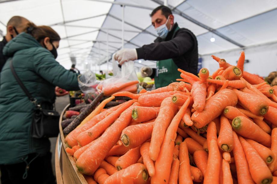 За неделю в Курганской области морковь подорожала на 11 процентов.