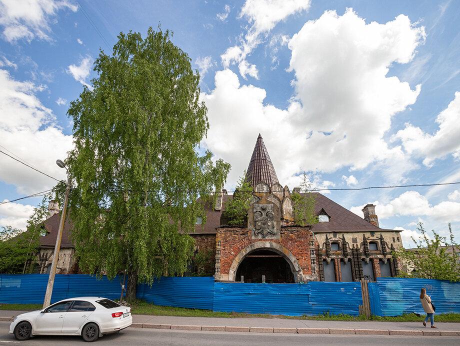 Вид на Царский вокзал в Пушкине сегодня.