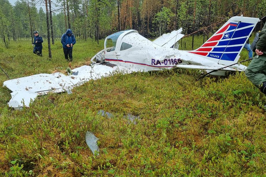 В результате инцидента тяжёлые травмы получил лётчик-наблюдатель