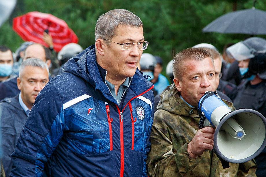 Радий Хабиров лично встречался с защитниками Куштау.