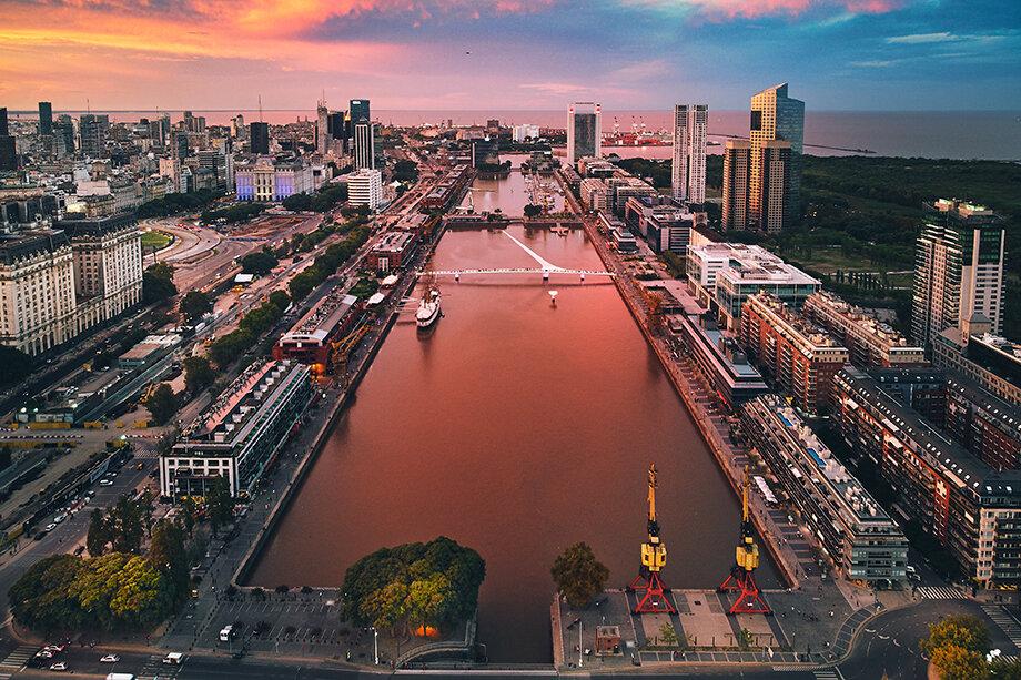 К настоящему времени район Puerto Madero – самый дорогой в Буэнос-Айресе.
