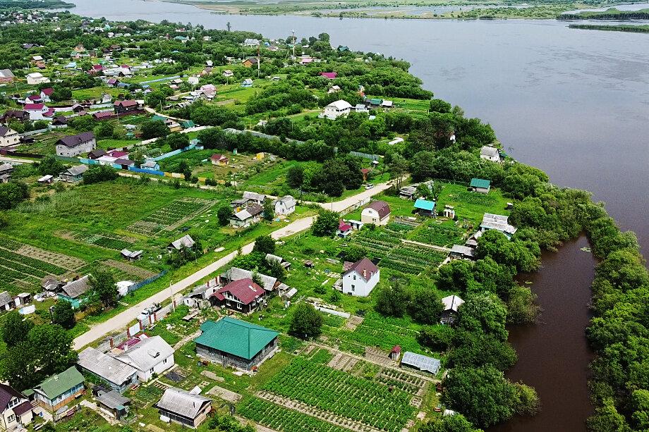 Последствия затопления в Хабаровском крае.