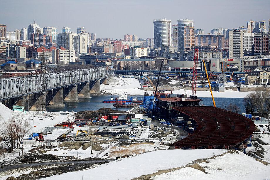 При строительстве моста через Обь зафиксировано несколько нарушений.