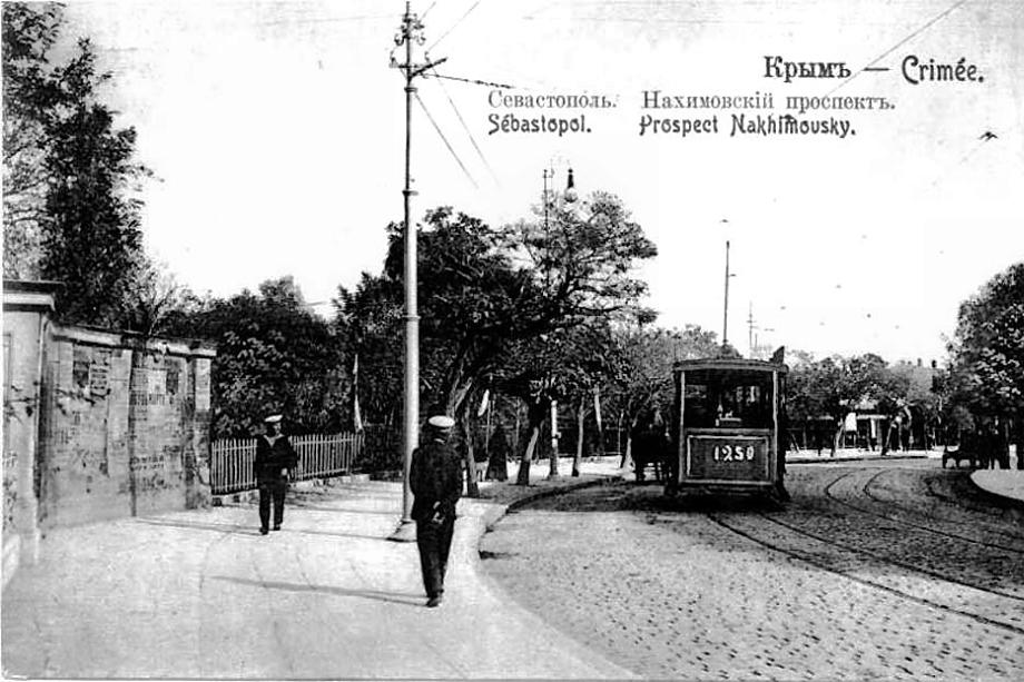Рельсовое движение в Севастополе было организовано в конце XIX века.