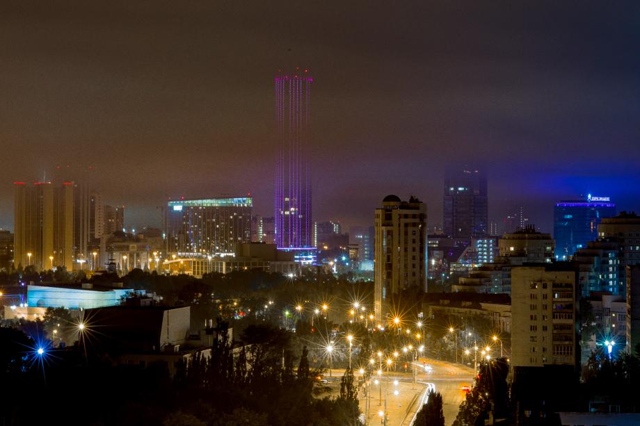 Смог от пожаров накрыл центральную часть города.