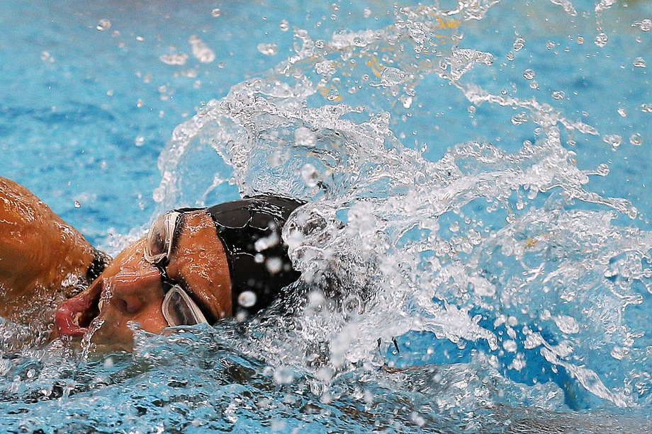 Ани Палян на Открытых всероссийских соревнованиях по видам спорта, входящим в программу Паралимпийских игр, 2016 год.