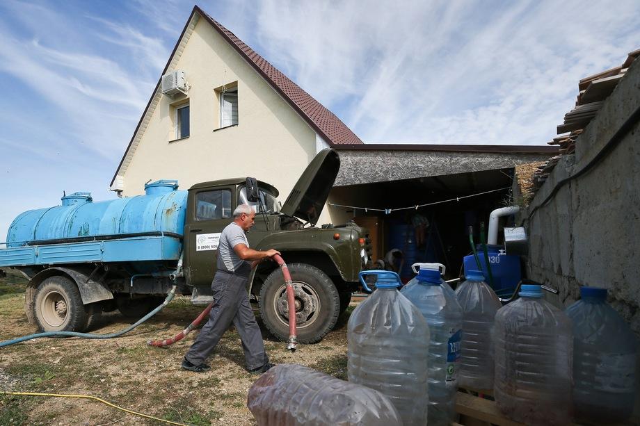 Крым испытывает дефицит воды уже несколько лет.