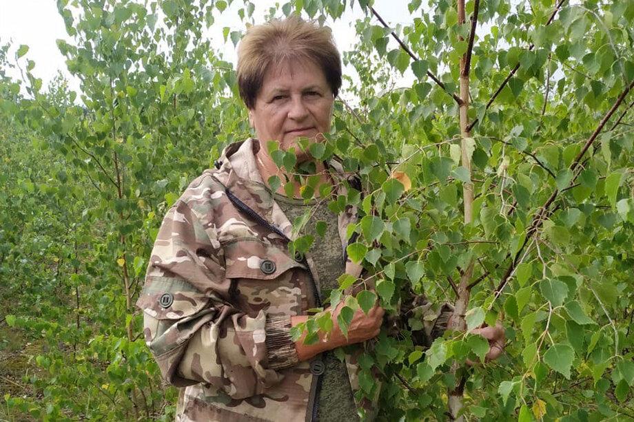 Лес для Галины Костенковой не только место работы, в лесу она и отдыхает.