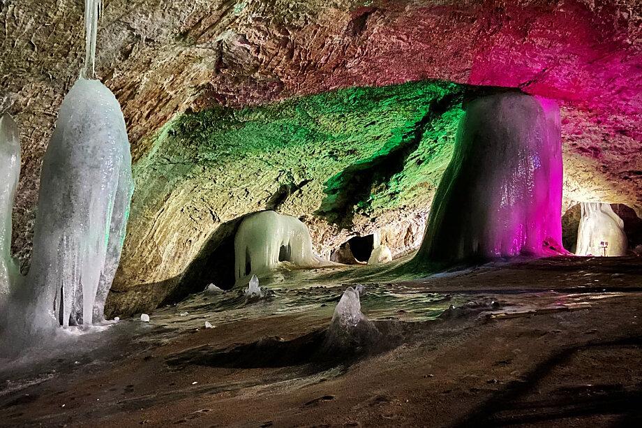 Аскинская ледяная пещера – памятник природы всероссийского значения.