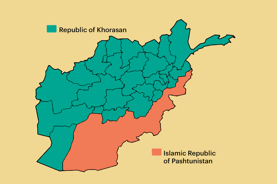 Карты раздела Афганистана на Пуштунистан и Хорасан уже вовсю гуляют по сети. Но это всего лишь один из возможных вариантов развития событий.