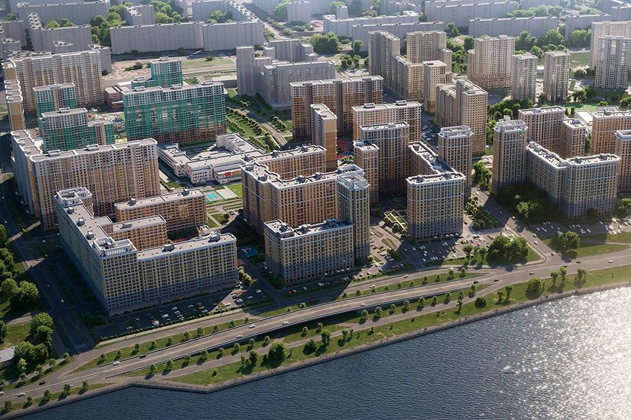 При губернаторе Полтавченко начался вывод в Ленинградскую область промышленных предприятий, а на их месте почти сразу же начали строить гигантский жилой комплекс.
