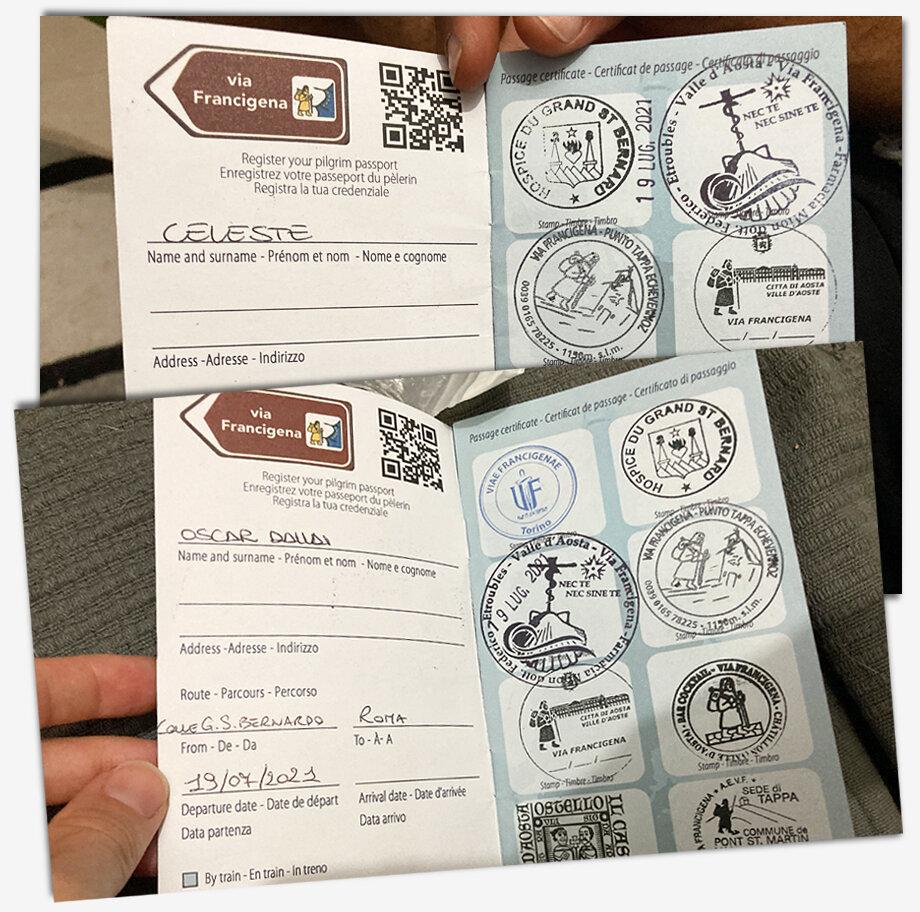 Два паспорта Оскара Даллая.