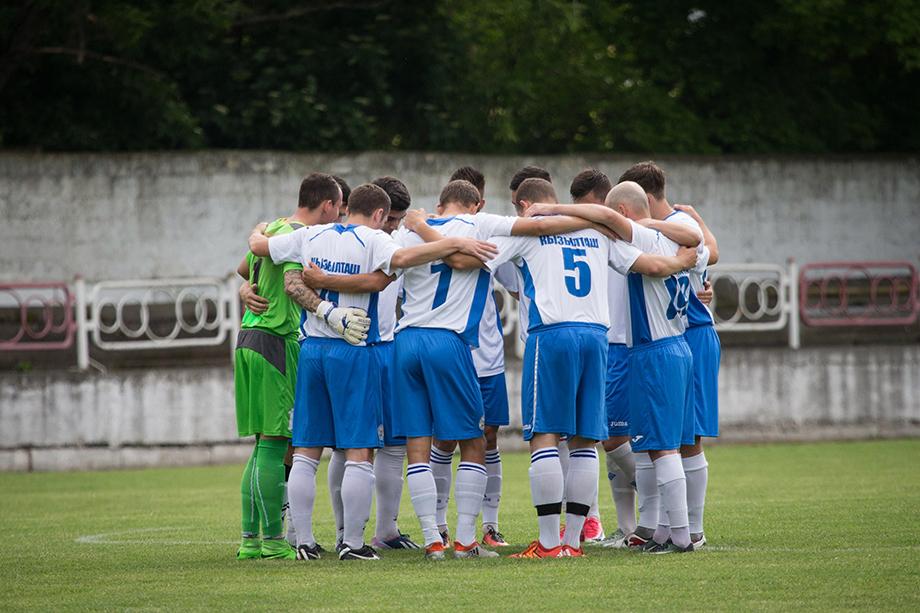 Футбольная команда «Кызылташ» сыграла свою первую игру с турецкой командой под грифом секретности.