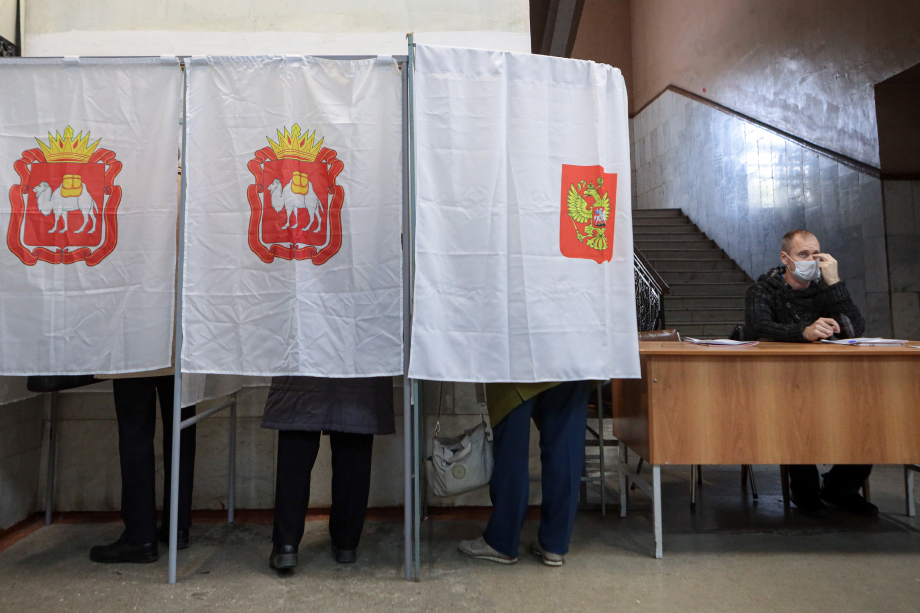 В Челябинской области к этому моменту проголосовали 43,15 процента жителей.
