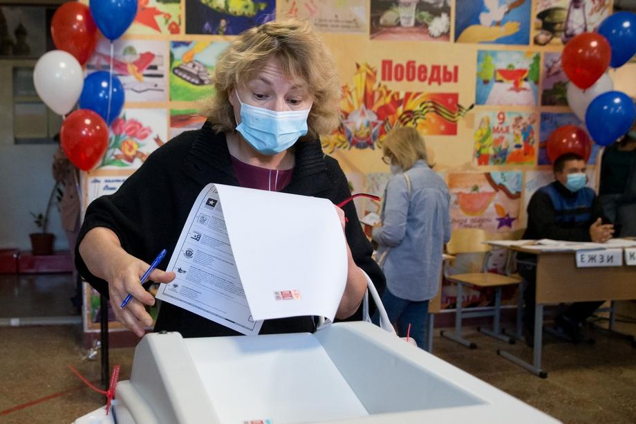 Лидером на выборах в Крыму стала «Единая Россия».