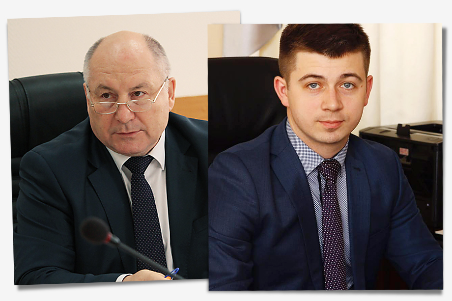 Валерий Чайников (на фото слева), Иван Детченя (на фото справа).