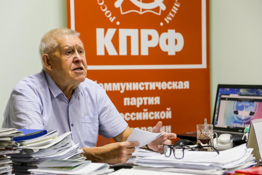 Лидер якутских коммунистов Виктор Губарёв живёт в республике более 50 лет.