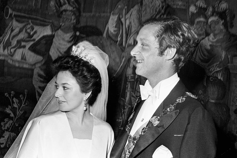 Свадьба Марии Владимировны Романовой, дочери великого князя Владимира Кириловича, с принцем Прусским Францем Вильгельмом. Георгий Романов  на самом деле Георг Гогенцоллерн – сын прусского принца.