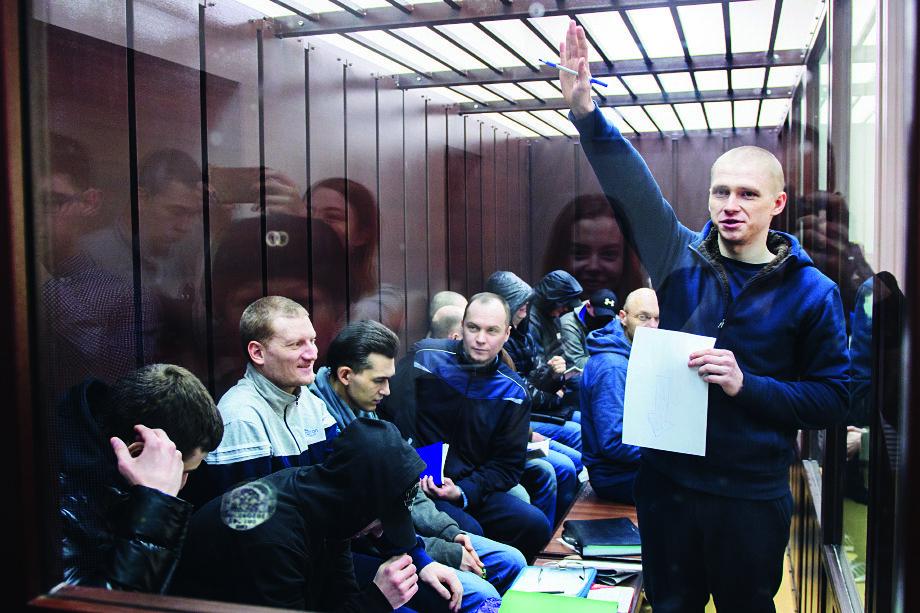 Константина Козловского считают одним из лидеров группировки.