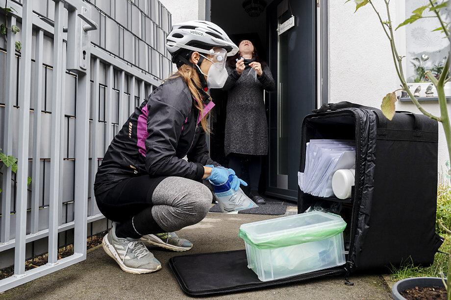 Жителям Австрии было предложено бесплатно сдать тест по месту жительства.