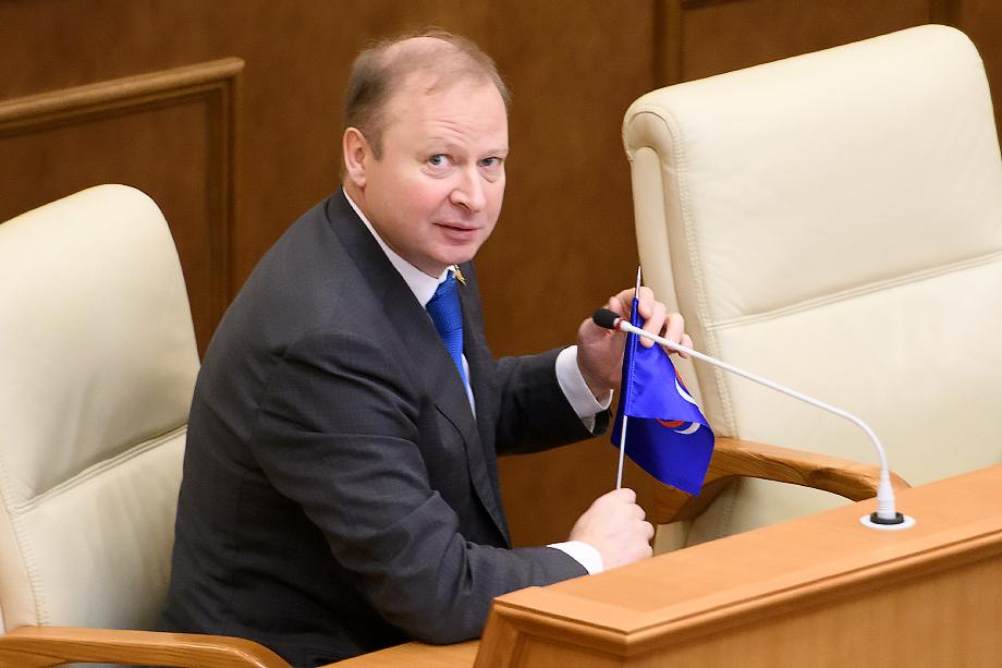Виктор Шептий, секретарь Свердловского регионального отделения «Единой России».
